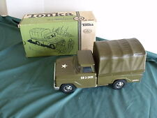 Tonka Trooper Truck All Original with Box and Benches