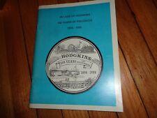 Hodgkins Illinois History 1896-1996 Chicago Area near Countryside La Grange