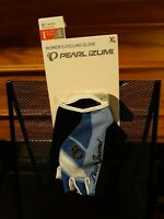 NWT Pearl Izumi Women's Half Finger Elite Gel Cycling Gloves Size XL