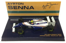 Minichamps Williams fw16 #2 GP del Pacifico 1994-AYRTON SENNA 1/43 SCALA