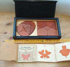 2 Anker Stein Geduldspiel 131 Int. 6 und 174 Int. 5 Blitzableiter ca. 1900-1920