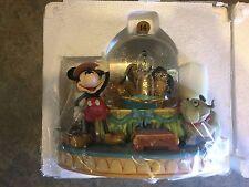 "Disney Snow Globe ""Society Dog Show"" Mickey Mouse New in Original Box Big Rare"