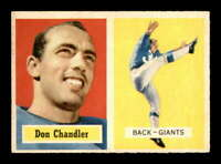 1957 Topps #23 Don Chandler RC EXMT X1646886