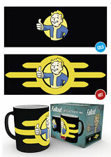 MGH0029 FALLOUT 4 Vault Boy  Bomb Coffee Mug Changes Colour When Hot GBEYE