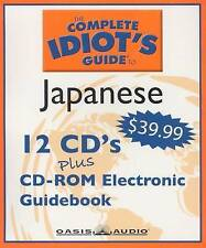 THE COMPLETE IDIOT'S GUIDE TO JAPANESE - 12 Disc CD Course