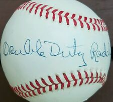 Ted Double Duty Radcliffe Negro Leagues Autographed OF AL  Baseball