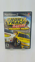 Playstation 2 PS2 Complete Short Track Racing Trading Paint Very Good