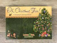 Leanin' Tree Oh Christmas Tree Boxed Set Assortment 20