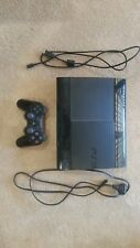 12GB Sony Playstation 3 (Charcoal Black) Seven Games Included. One controller.