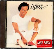 JULIO IGLESIAS - Libra - SPAIN CD CSB / Sony 198? - Felicidades Pedro Vargas