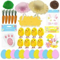 Easter Decorations Bunny Lamb Chick Arts & Crafts Bonnet Hat -Various Options
