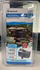 Waterfall Pump Beckett 1250 Gallons per hour 7218510