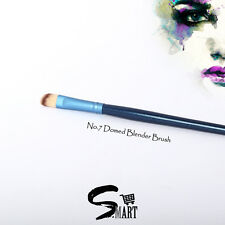 Cosmetic Makeup Curved Domed BLENDER BRUSH Soft Fibre 1.5x1x17.5cm Denim Blue N7