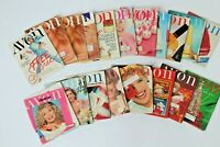 1990 Vintage Avon Catalog Campaign Books Lot of 19