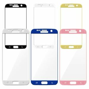 Full Cover Tempered Glass Screen Protector For Galaxy S6 Edge Plus S7 Edge S8 S9