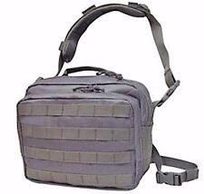 Nylon Gun Pistol Concealment Holster Shooter Square Bag / Briefcase Tan Grey