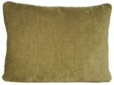 Green Cushion Cover Plain Fabric Genova Designers Guild Material Rectangular