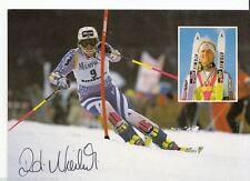 Rudolf Nierlich (+1991) Top AK originale firmato skialpine +a43469