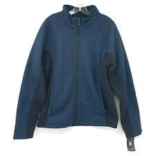 Spyder Frontier Steller L Full Zip Fleece Sherpa Lined Knit Raglan 2-Tone $169