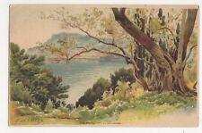 E. Lessieux, Cap Martin Early Chromo Art Postcard, B278