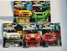 Hot Wheels 2019 Fast and Furious  Car Culture Complete Set Original Fast