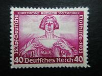 Germany Nazi 1933 Stamp MINT Parsifal German Empire Wagner Nothilfe Third Reich