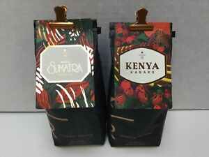 Starbucks Reserve Bundle Kenya Baragwi & Aged Sumatra Whole Bean 8.8oz JUNE 2021