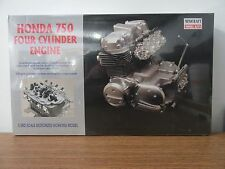 Minicraft Motorized Honda 750 4 Cylinder Engine Working Plastic Model Kit 1/3