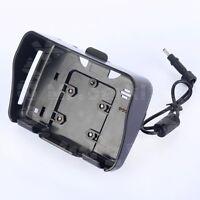 Black Motorcycle GPS Cradle Mounting Bracket for 4.3 inch Car GPS Navigation NAV