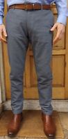 "MEN`S NEW ZARA SLIM FIT COTTON TROUSERS SIZES 30-31-32-34-36-38"" RRP £28"