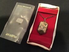 Silverplate Hummel necklace 1982 ars, Stormy Weather, in box