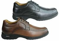 NEW FERRICELLI VINCENT MENS LEATHER GEL FLEX COMFORT SHOES MADE IN BRAZIL