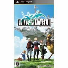 Used PSP Final Fantasy III SONY PLAYSTATION JAPAN IMPORT