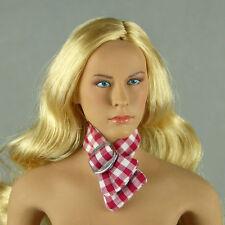 1/6 Phicen, Cy Girls, Kumik, ZC, Hot Toys - Female Red & White Checker Neck Tie