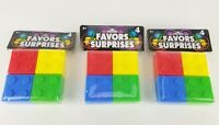 12 Building Bricks Lego Blocks Hinged Birthday Party Favors Containers Plastic