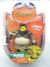 """Dreamworks 2006 Shrek Movie Series 1 5"""" Ogre Shrek The Brave Action Figure New"""