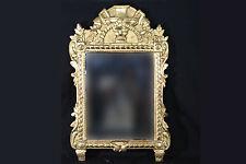 Miroir en bois doré à la feuille d'or, début XIXème / gilded wood miror, beginni