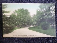 1910 The Drive in National Cemetery in Chattanooga, Tn Tennessee PC