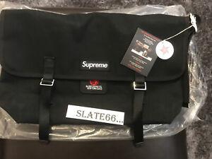 Supreme De Martini Messenger Bag Black BNWT
