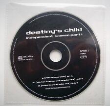 Destiny's Child - Independent Women Part 1 CD Single.