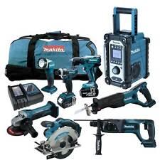MAKITA LXT 18V 12tlg. Akku Werkzeug Set +DDF459 Bohrschrauber +DHR241 RMJ RFE