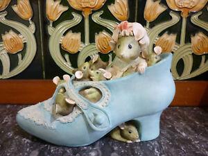 Vintage Border Fine Arts ~Beatrix Potter ~Old Woman In Shoe ~ Money Box ~ Boxed