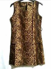 Zara Leopard Print Sleeveless Dress