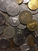 100 Gramm Restmünzen/Umlaufmünzen Nicaragua