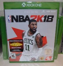 Xbox One NBA 2k18 2018  Kyrie Irving NEW Sealed REGION FREE USA 2018