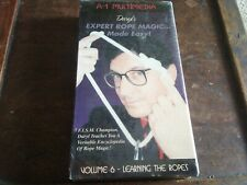 Expert Rope Magic VHS Factory Sealed