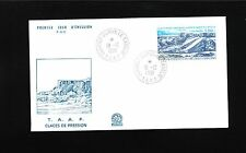 France TAAF T.A.A.F. FDC 1981 Dumont d'Urville Glacier Cover Unaddressed 9u