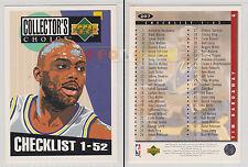 NBA UPPER DECK 1994 COLLECTOR'S CHOICE Checklist 1-52 Tim Hardaway #207 MINT