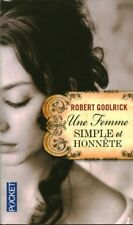 Livre Poche une femme simple et honnête Robert Goolrick book