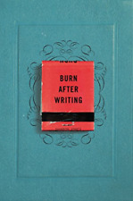 Jones Sharon-Burn After Writing BOOK NEUF